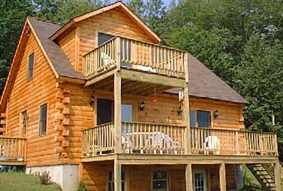 Alstead Log Home Crockett Homes Plans amp Kits