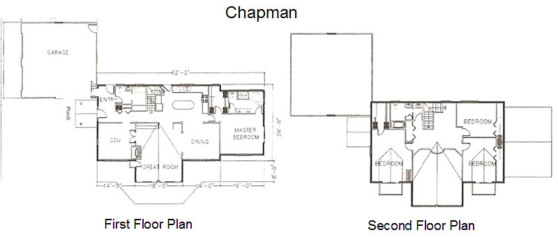 Chapman timber frame post beam home Post frame homes plans