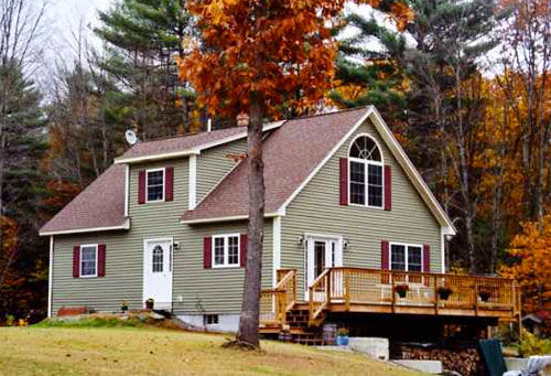 Chesterfield Timber Frame Post Beam Home Kits Plans