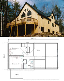 Featured Post & Beam Homes